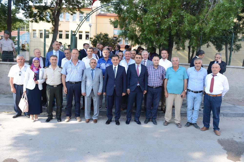 Ankara Valisi Ercan Topaca Ayaş İlçesinde