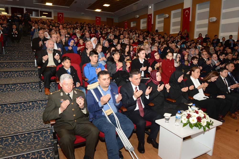 Etimesgut ve Sincan'da Devlet Övünç Madalyası ve Beratı Tevcih Töreni